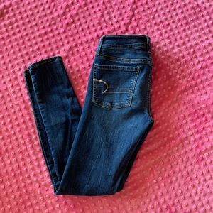 American Eagle Outfitters medium wash jeggings